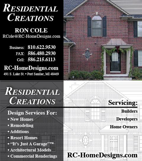 Residential Creations - Professional Building Designer